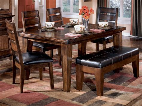 dining table and bench set dining table with benches home design ideas