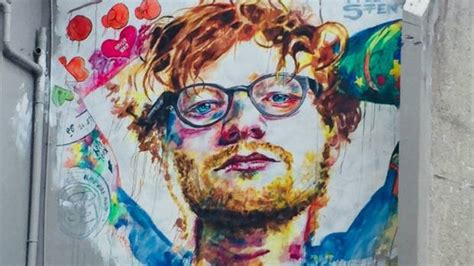 tattoo prices dunedin surprise over sheeran mural reaction but no regrets