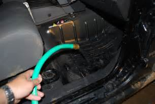 2008 jeep wrangler water in cab and drain plugs picture