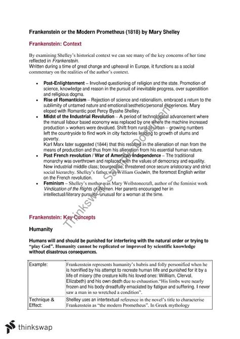 Thesis Statements For Frankenstein by Frankenstein Essay Thesis Resume Template Easy Http