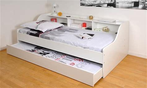 canapé une place et demi lit etag 232 re tiroir lit groupon shopping