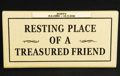 Plaque A Spm 66 memorial plaque spm05 garden gifts forget me not