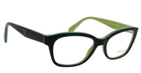 new prada eyeglasses vpr 20p blue oab 1o1 vpr20p 52mm ebay