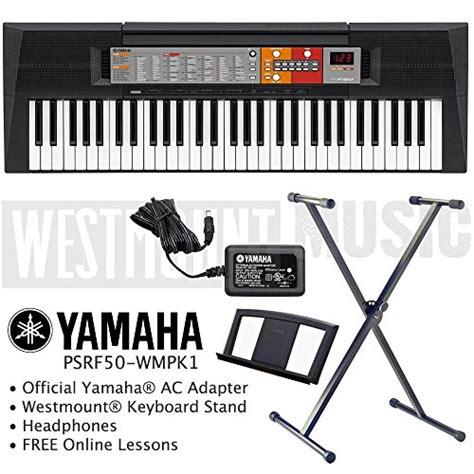 Dan Spesifikasi Keyboard Yamaha F50 yamaha psr f50 keyboard including adapter westmount