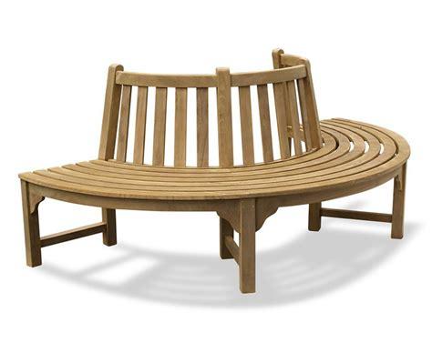 circular garden bench seat teak circular half tree seat