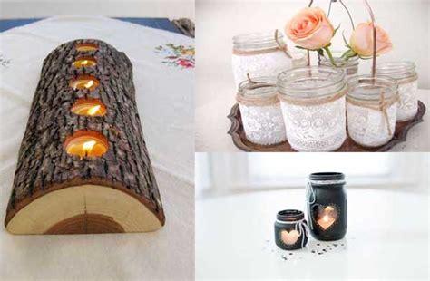 productos elaborados con reciclaje 30 ideas para fabricar candelabros con materiales
