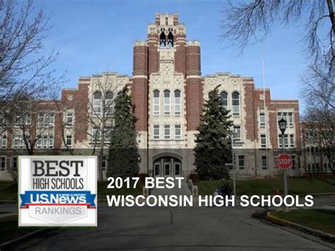 Wisconsin School Of Business Mba Ranking by Best High Schools In Wisconsin 2017 U S News And World