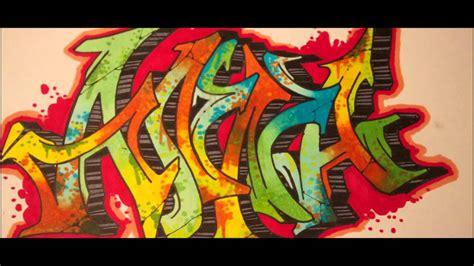 wildstyle graffiti drawing anna sos youtube