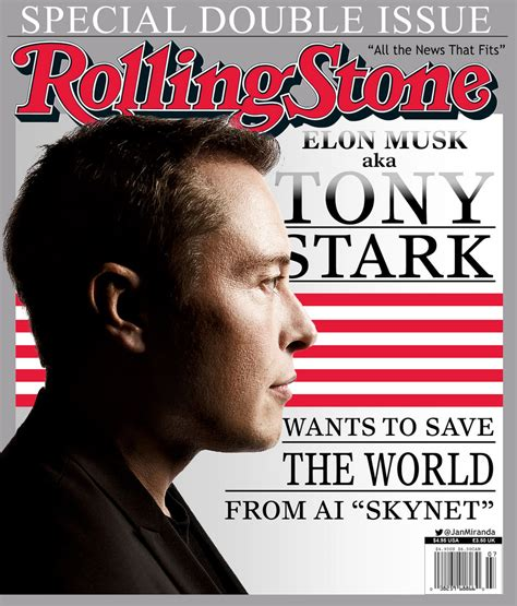 Elon Musk Rolling Stone | elon musk aka tony stark wants to save the world from ai