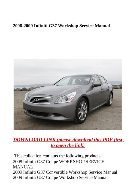 service manual how to change a 2008 infiniti fx dipped beam replacement 2008 infiniti fx35 2008 2009 infiniti g37 workshop service manual by molly issuu