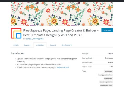 6 Efficient Wordpress Squeeze Page Builders Newt Labs Free Squeeze Page Templates