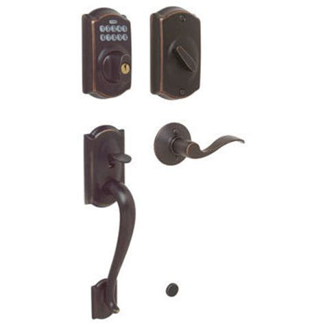 schlage front door lock schlage fe365 camelot front door keypad deadbolt with