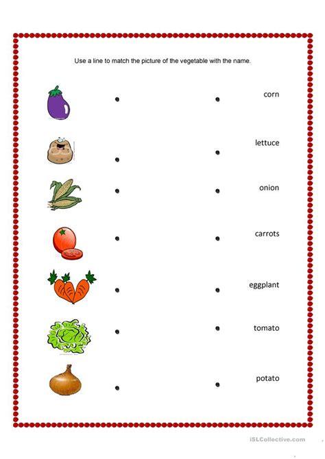 vegetables worksheet 154 free esl vegetables worksheets