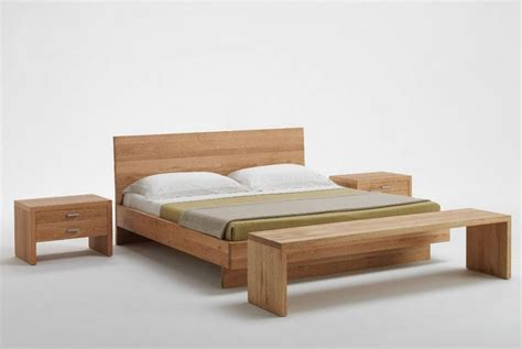 Simple Wooden Bed Frame Excellent Solid Wood Bed For Both Modern And Classic Bedrooms Contemporary Solid Wood Bed