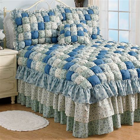 margaret puff quilt bedspread color out of stock figi s gallery