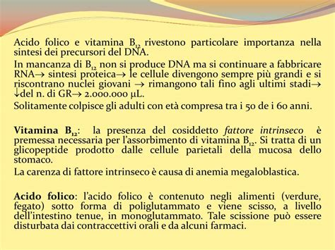 alimenti con vitamina b12 e acido folico ppt il sangue ed i suoi componenti powerpoint