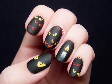 eye nail art tutorial are you afraid of the dark spooky eyes nail art
