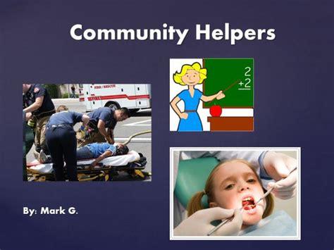 Powerpoint Presentation Community Helpers Stonewall Services Presentation Helper