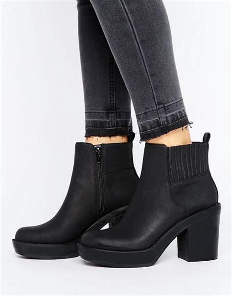 asos asos enchanter chunky ankle boots