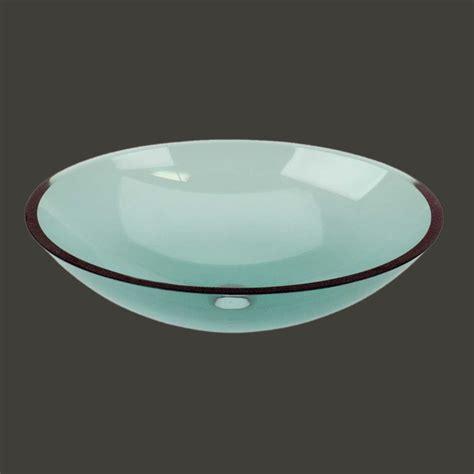 Green Glass Bathroom Sink by Vessel Sinks Green Glass Tourmaline Glass Vessel Sink Oval
