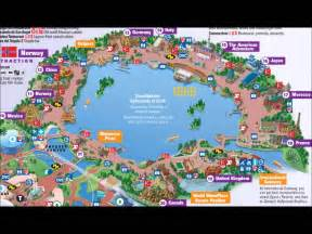 Epcot World Showcase Map by Epcot S World Showcase Interactive Map Youtube