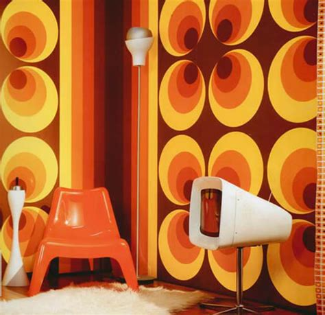 Mid Century Modern Home Interiors by Retro Wallpaper From Uk Wallpapers Breathe Modern
