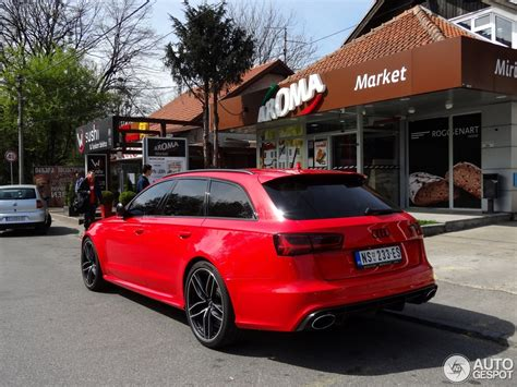 Spotlight: Candy Red Audi RS6 Avant
