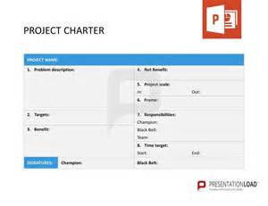 customer care charter template project charter six sigma powerpoint templates http