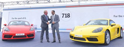 porsche india porsche the 718 models in india porsche middle east