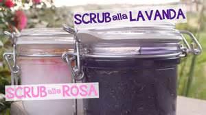 Rosa Scrub scrub alla rosa scrub alla lavanda fatto in casa da