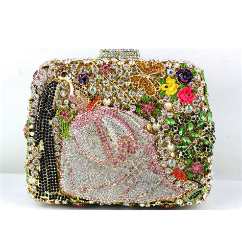 Clutch Swarovski Code 3503 luxury cheap clutch bag in mini size beaded fashion handbags for wedding occasion