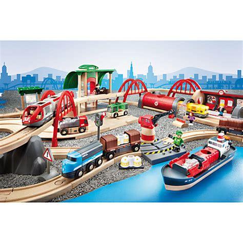 brio train set canada buy brio deluxe railway set john lewis