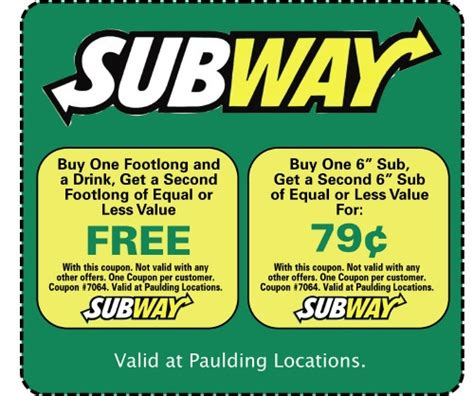 printable subway coupons canada 1000 images about savings on pinterest canada cars and