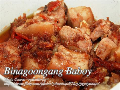 printable pinoy recipes binagoongang baboy recipe panlasang pinoy meat recipes