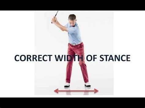 width golf swing golf swing width of stance quot driver iron short iron