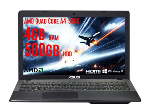 Laptop Asus Amd Ram 4gb asus x552ea cheapest gaming laptop amd a4 5000 15 6 quot 4gb ram 500gb hdd ebay