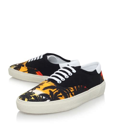 s laurent sneakers laurent hawaii skate shoe in yellow for lyst