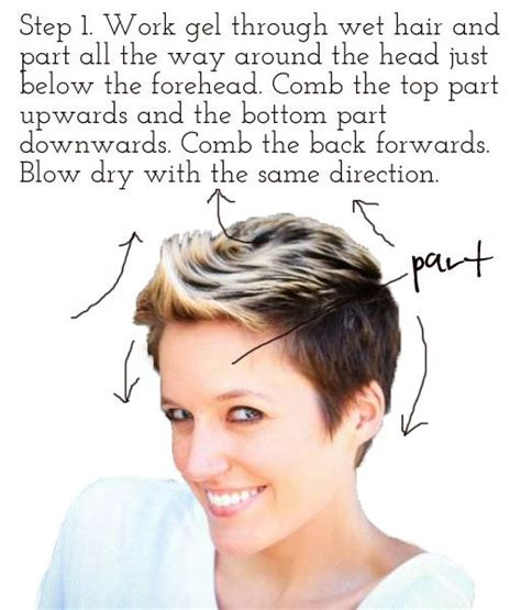 pixie cut instructions the 25 best pixie faux hawk ideas on pinterest pixie