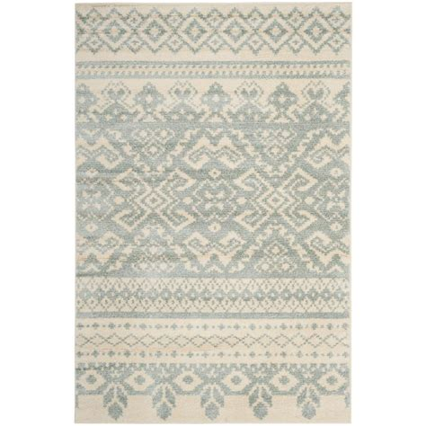 adirondack rugs safavieh adirondack ivory silver 6 ft x 9 ft area rug adr101b 6 the home depot
