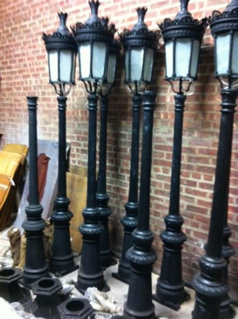 decorative street lights for sale single light victorian cast iron outdoor street lamp hsl65
