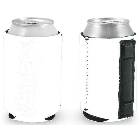 Blank Magnetic Neoprene Collapsible Can Coolie Wholesale Coolies Can Cooler Template