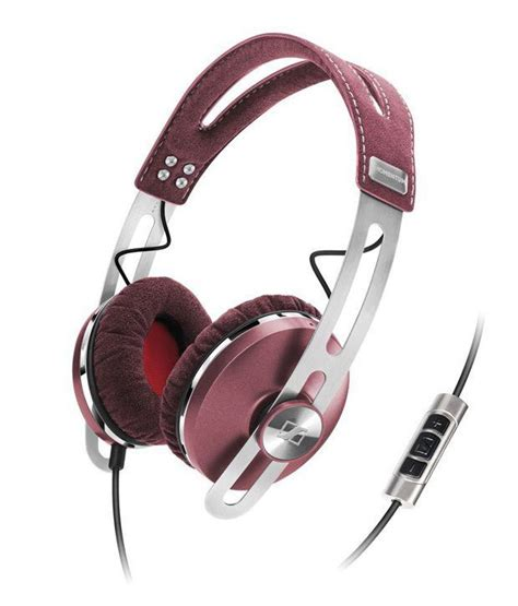 Sennheiser Momentum In Ear Earphone With Microphone Buy Sennheiser Momentum Ear Headphone With Mic Pink At Best Price In India Snapdeal