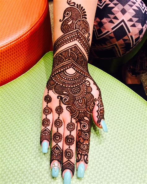 indian motifs peacocks and bridal henna with maaz may 14