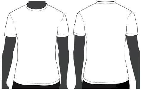 t shirt front and back template psd template t shirt psd clipart best