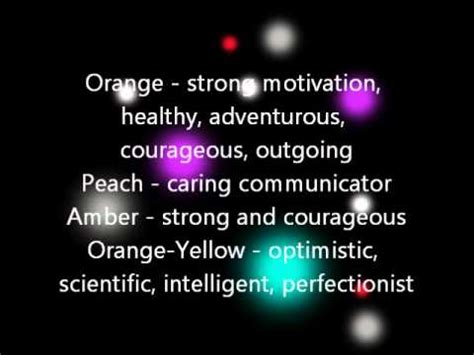 orb colors orbs colours meanings doovi