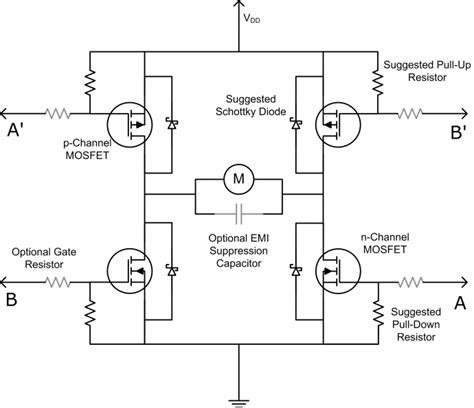 transistor mosfet h bridge raspberry pi how do i my electric motor electrical engineering stack exchange