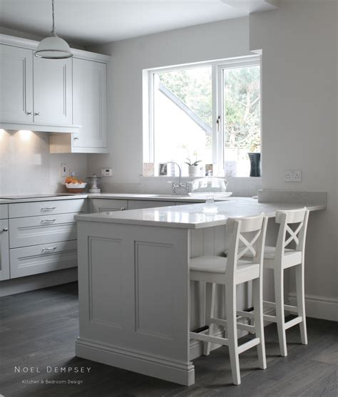 Painted Gray Kitchen Cabinets by Blog Noel Dempsey Design