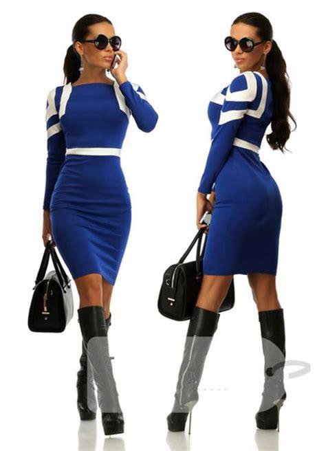 2015 fashion office dresses fashion clothing work