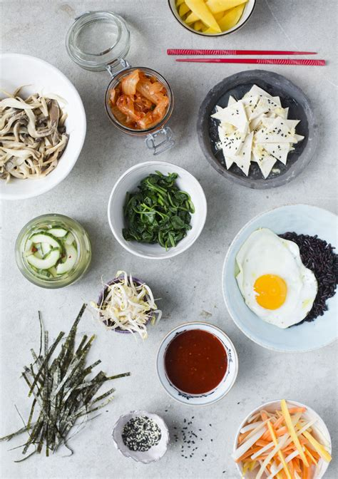 Kitchen Ingredients by Green Kitchen Stories 187 Bibimbap With Tofu Pickled