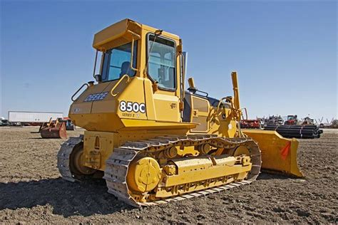 Bulldozers The Came Employing by 2000 Deere 850c Dozer Best Truck Stop Service